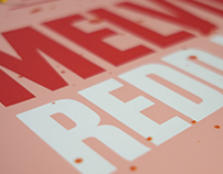 Melvins Redd Kross Gigposter Screen Print