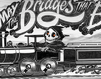 'The Bridges that Burn'  Personal Project