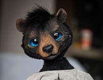 "Portrait doll ""Bear Artist"""