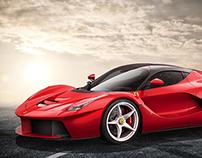 La Ferrari - CGI 3D Studio