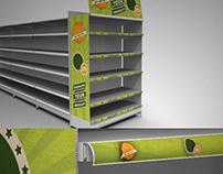 Supermarket Campaign Mock-up