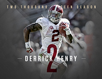 Derrick Henry - 2015 - The Definitive Season