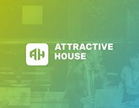 Attractive House / Branding, website, app design