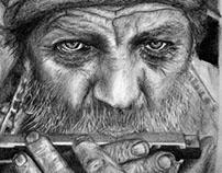Drawings by David Haynes