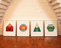 Hideaways Art Prints