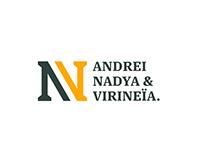 ANV Construction Logo Design.