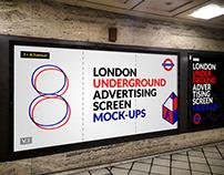 London Underground Ad Screen Mock-Ups 9