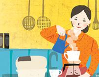 Kamome Shokudō (かもめ食堂, Kamome Diner)