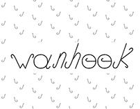 Wanhook - Font family