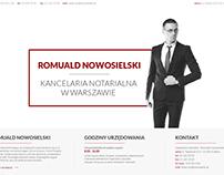 Notary Website Design