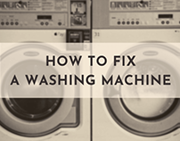 How to Fix a Washing Machine