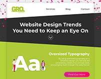 Website Design Newsletter Template