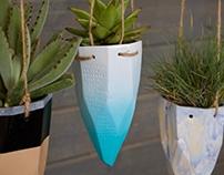 Slipcast Planters