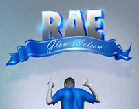Rae - Glow Motion (Album Cover Art)