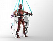 NIMBLE REHO exoskeleton by CAMAL