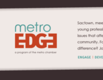 Metro EDGE Logo & Website