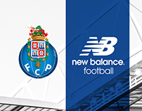 FC Porto 17-18 Home Kit Launch Key Art