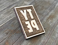 Wood Type Pin