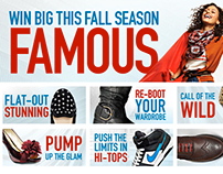 Famous Footwear Fall Style Magazine