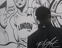 Wall Illustration (London2012)