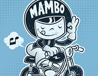 "Mambo Placement Print - ""Give It Some Gas!"""