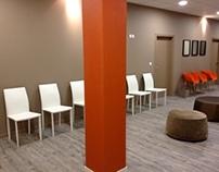 Salle d'attente médicale - Projet réalisé avec So&Lo