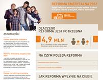 Reforma Emerytalna 2012