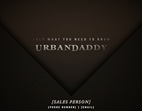 Urban Daddy Design Exploratory