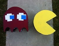 Frabrication: Pacman and Ghost