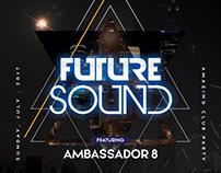 Future Sound - PSD Flyer Template