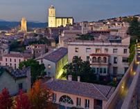 The City of Girona, Catalonia (Spain)