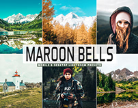 Free Maroon Bells Mobile & Desktop Lightroom Presets
