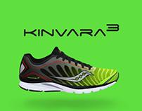"Saucony - Kinvara 3 ""Components & Concept"""