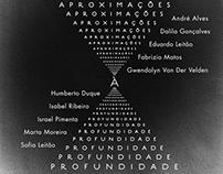 """""""Aproximações à Profundidade""""Art Crew Exhibition Poster"""