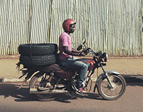 UGANDA Motorbike