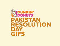 Pakistan Resolution Day GIFs | Dunkin' Donut