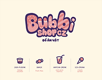 Brand Identity - Bubbi Shop'cz