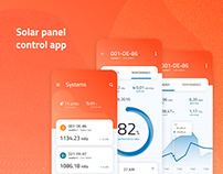 Solar Panel Control App