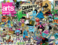 Computer Arts Project Cover July 15th Character Design