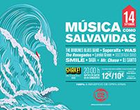 Open Arms non-profit-concert Poster