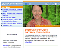 Yahoo! Insights Newsletter