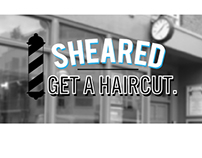 Sheared Salon Branding