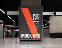 Flyer and Poster Urban Underground Mock-ups - Bundle