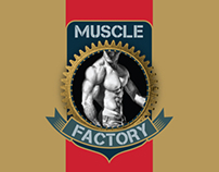 Muscle Factory - Logo design & Corporate Identity