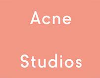 Interior Materials: Acne Studios X Dubai