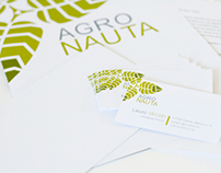Brand identity for AgroNauta