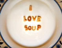I Love Soup Alphabet