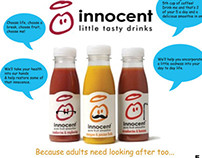 Brand extension report for Innocent smoothies.