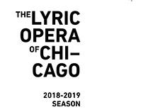 Lyric Opera 2018-2019 Season Announcement