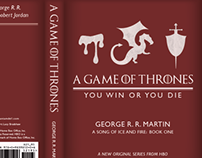 A Game of Thrones Book Cover Redesign